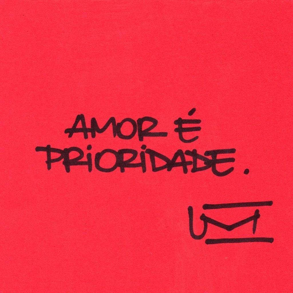 Amor é prioridade