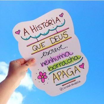 A história que Deus escreve