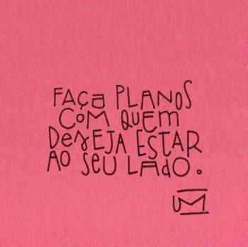 Faça planos