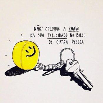 Não coloque a chave