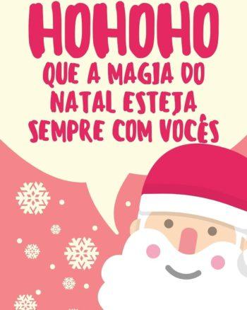 A magia do Natal