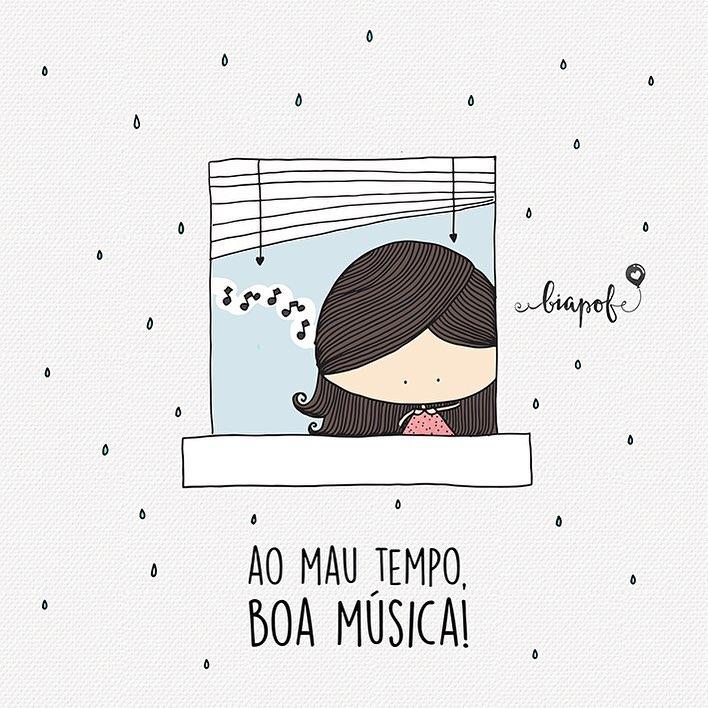 Ao mau tempo, boa música!