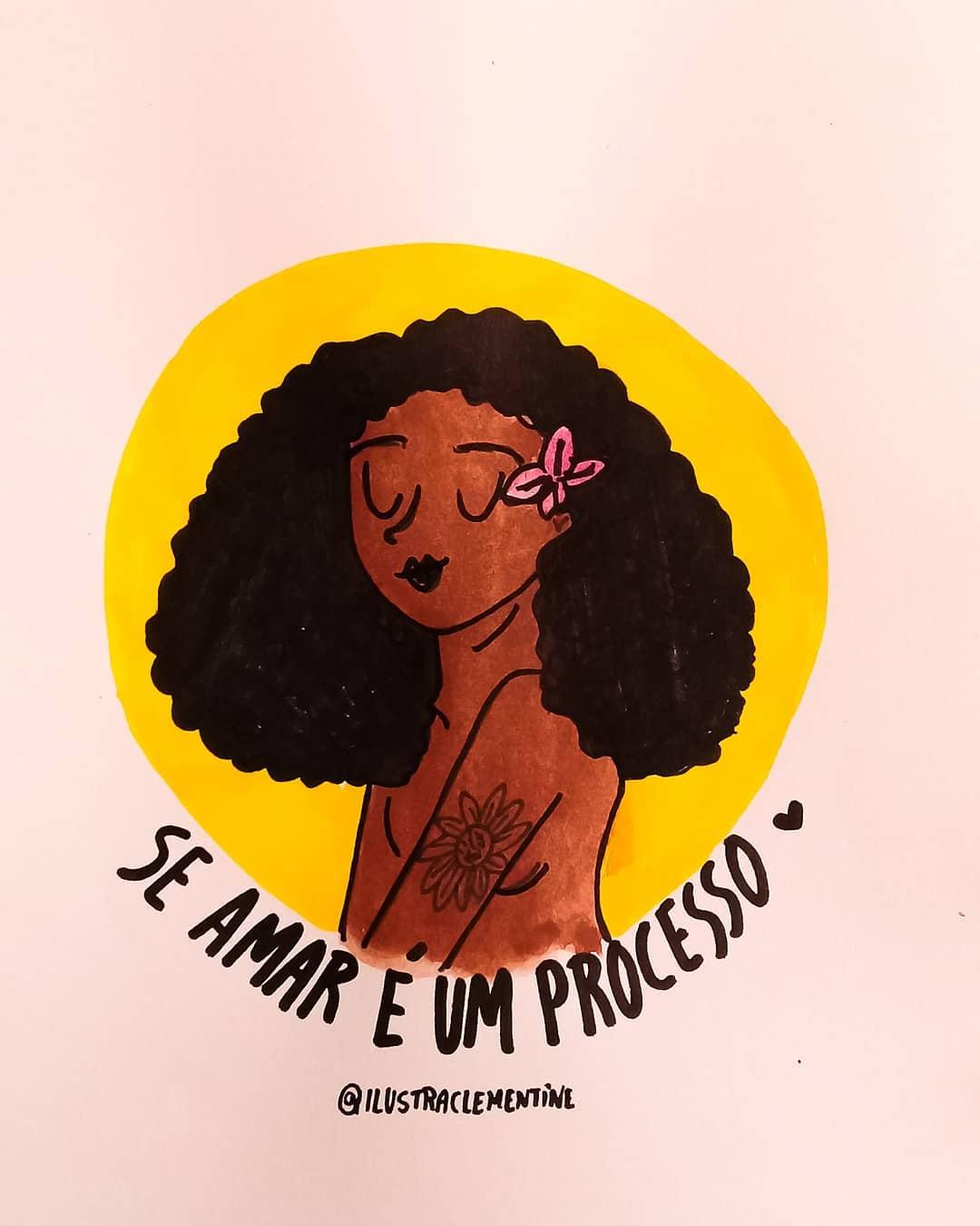 Se amar é um processo.