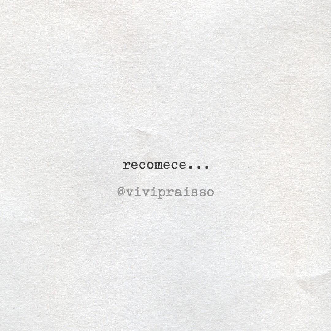 Recomece...