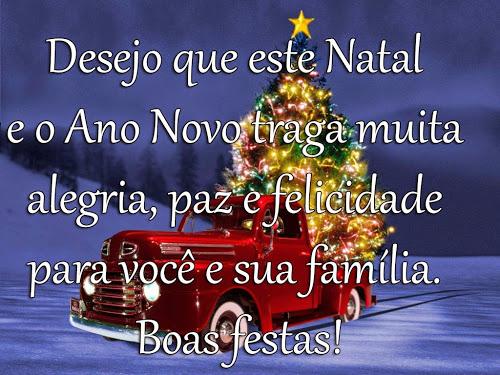 Desejo Que Este Natal E O Ano Novo Traga Muita Alegria Paz