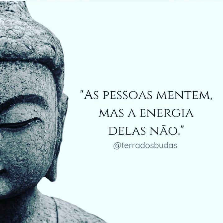 As pessoas mentem, mas a energia delas não.