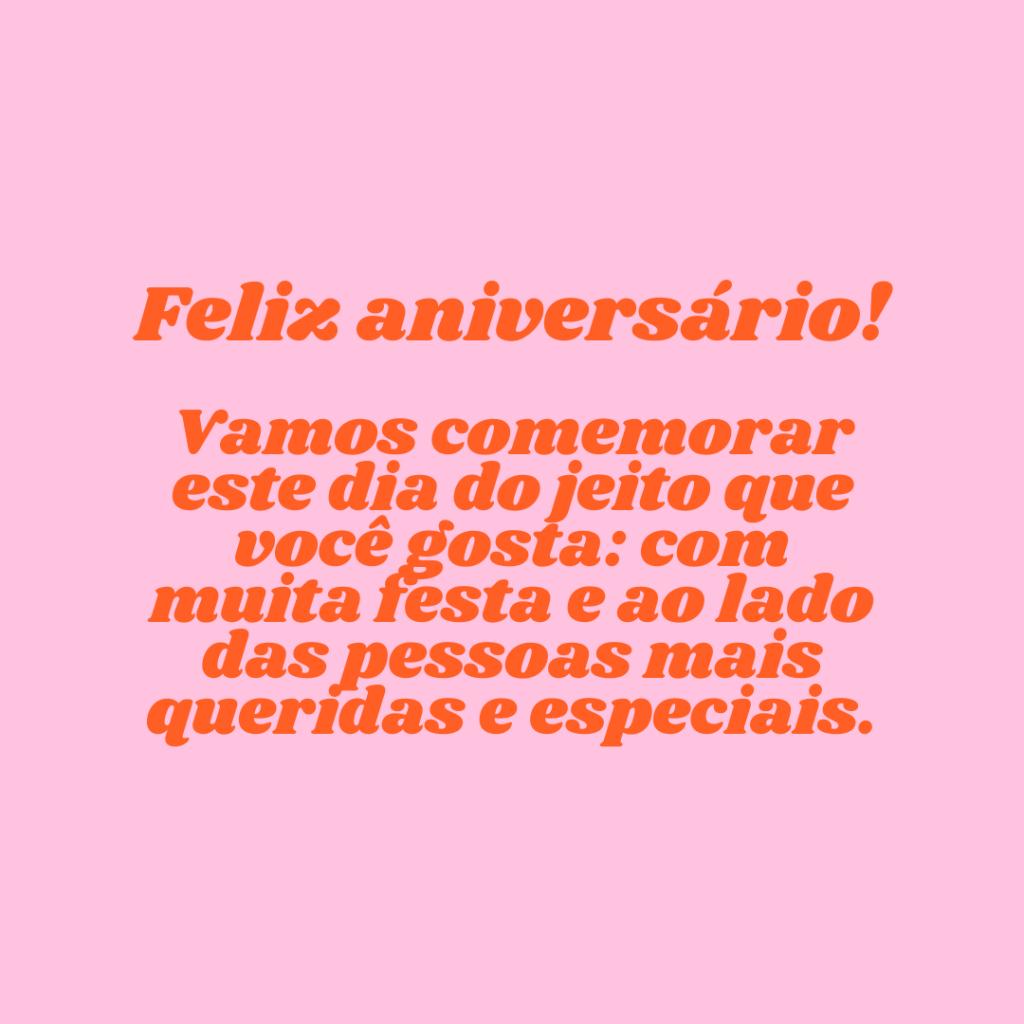 Vamos comemorar